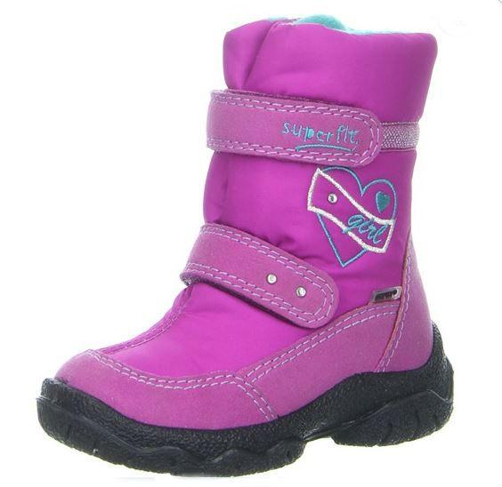 Dievčenské zimné topánky- Superfit - Maximino.sk 160b35f8536